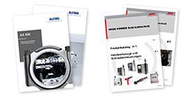 Produktinformationen und Flyer